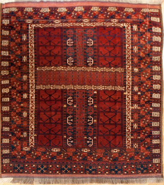 Ersari Engsi (Turkmenischer Teppich)