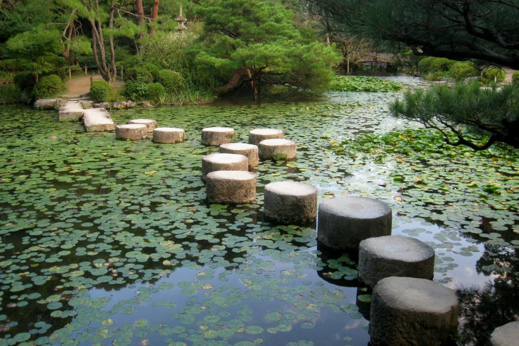 Heian-jingu shinen (Heian Shrine garden), Kyoto, Japan