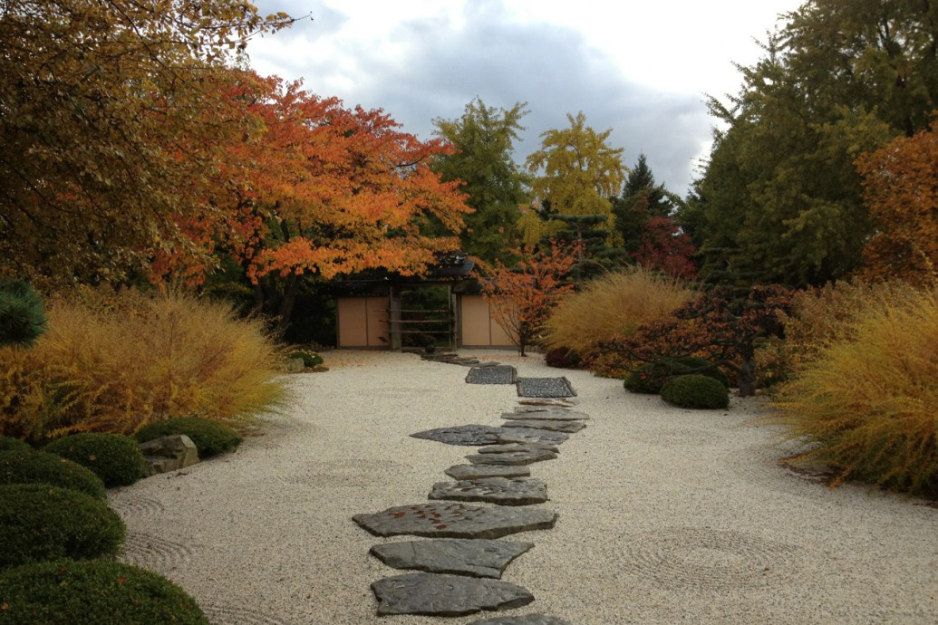 Japanese Gardens at the Chicago Botanic Garden (Elizabeth Hubert Malott)